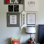 Kids Gallery Wall | The Tale of an Ugly House