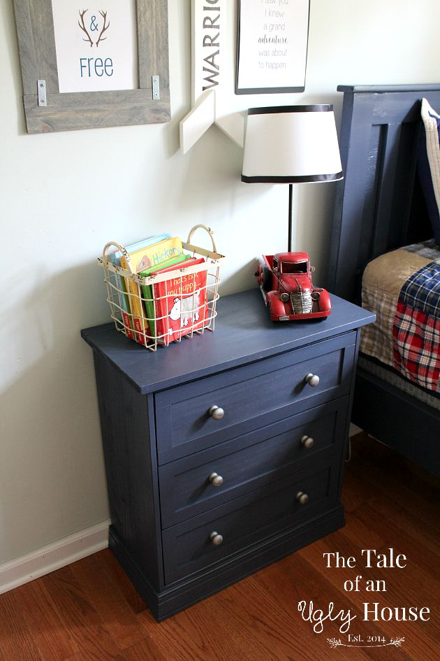 Ikea Rast Night Stand Hack | The Tale of an Ugly House