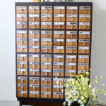 Two Tone Painted Card Catalog | Dandelion Patina