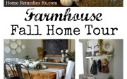 Farmhouse Fall Home Tour | Home Remedies Rx.com
