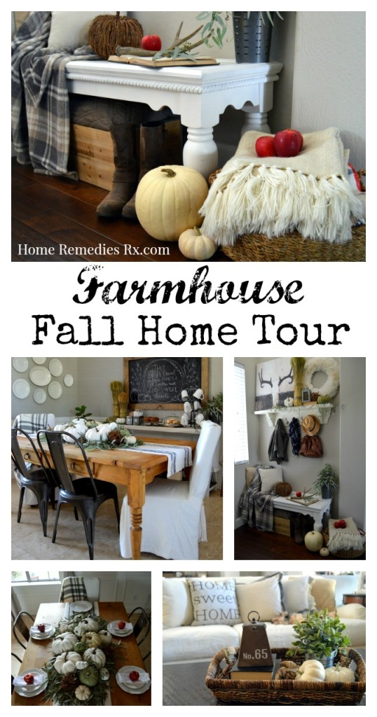 Farmhouse Fall Home Tour | Home Remedies Rx.com