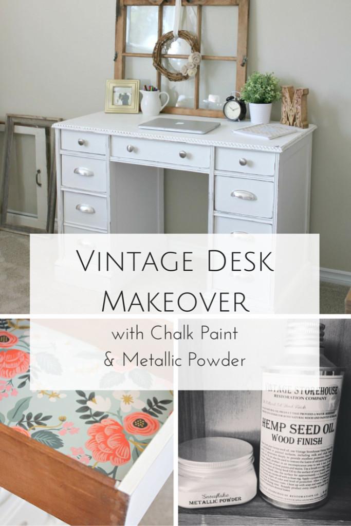 tt Vintage-Desk-Makeover
