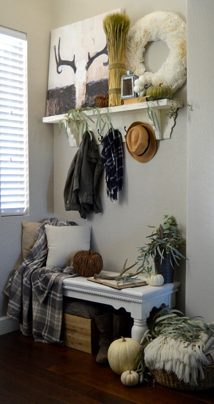 A Rustic Fall Entryway 2015 | HomeRemediesRx.com