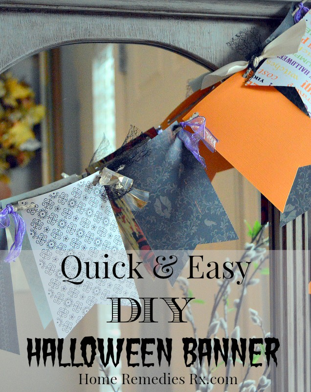 DIY Halloween Banner | Home Remedies