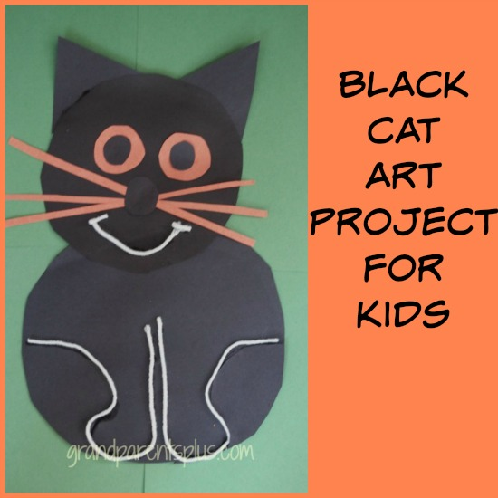 Black Cat Art Project for Kids | Grandparents Plus