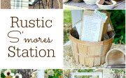 Rustic Smore's Station | Dandelion Patina