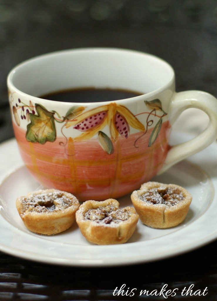 Indulge This Fall With Pecan Tassies | This Makes That
