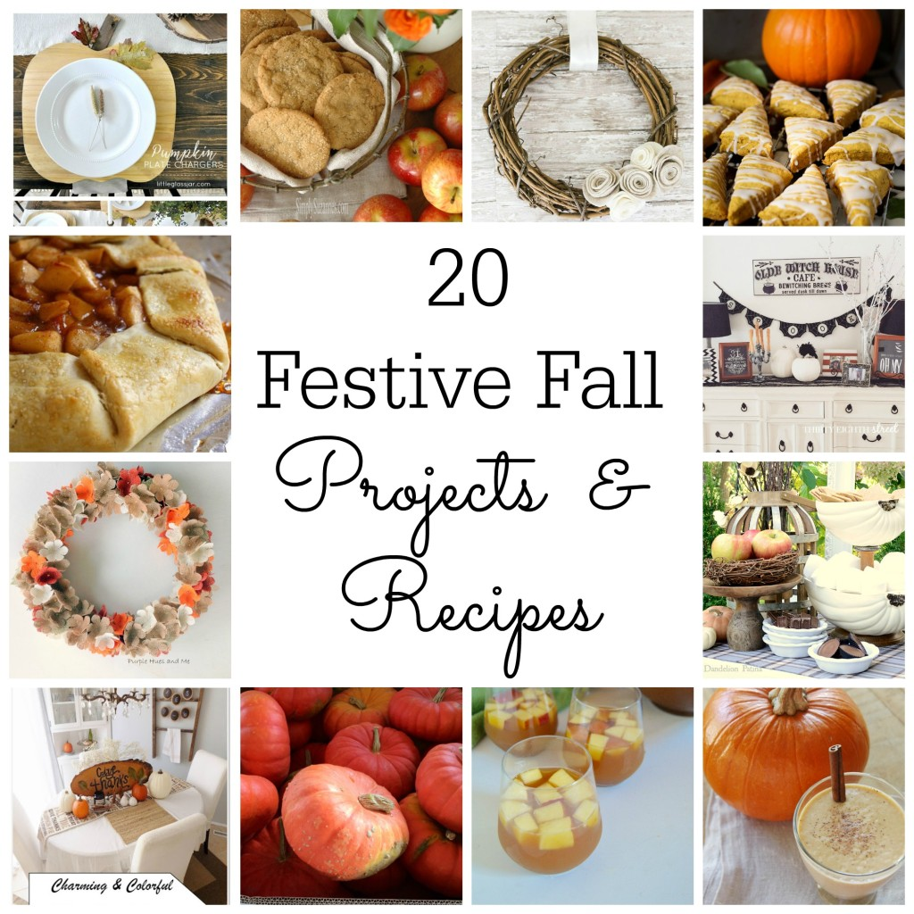 20 Festive Fall Projects and Recipes | Home Remedies