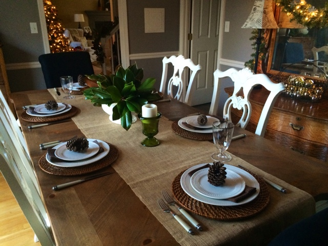 TT Holiday Tablescape