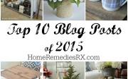 Top 10 Blog Posts of 2015 | Home Remedies Rx.com